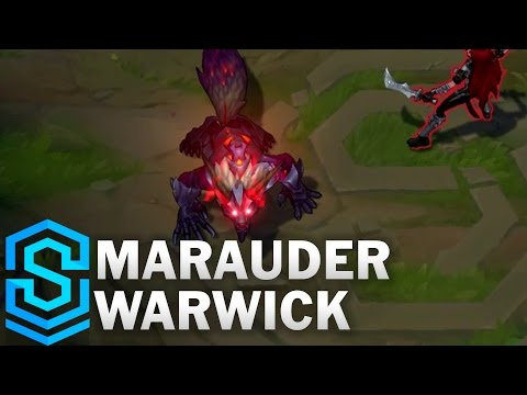 Marauder Warwick (2017) Skin Spotlight - League of Legends
