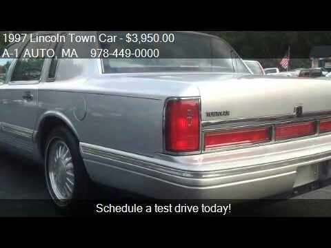 1997 Lincoln Town Car Cartier For Sale In Pepperell Ma 01 Youtube