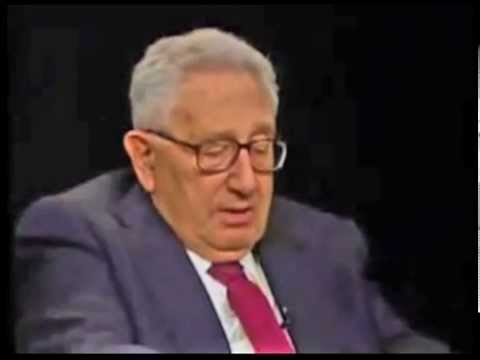 "Kissinger on Globalization and the ""New World Order"""