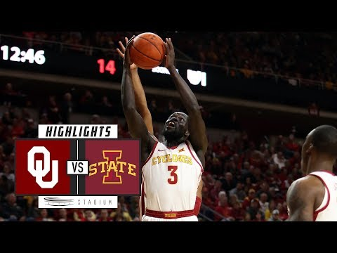 Oklahoma vs. Iowa State Basketball Highlights (2018-19) | Stadium