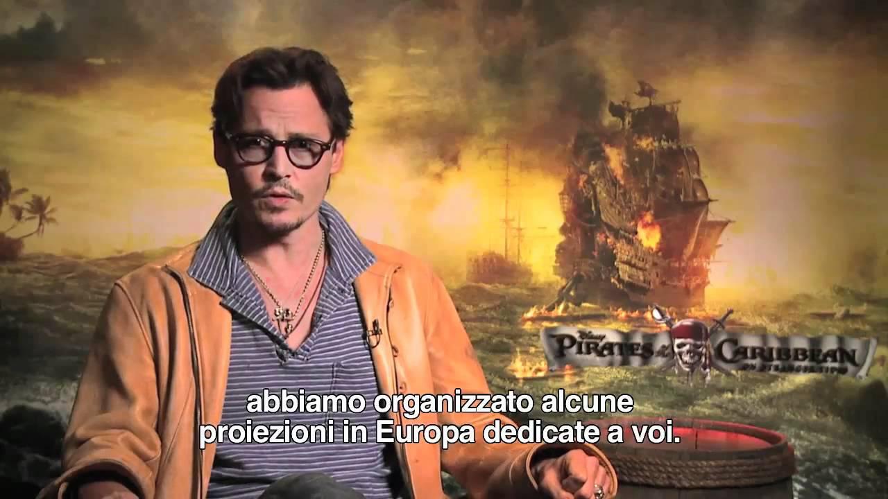Pirati Dei Caraibi Un Messaggio Speciale Da Johnny Depp