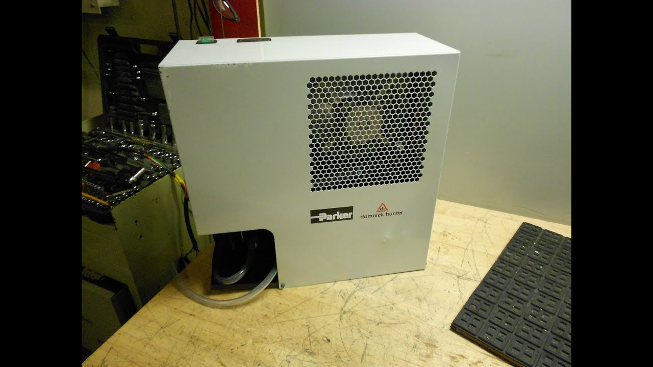 testing a parker starlette plus 35 cfm refrigerated air dryer youtube rh youtube com parker hiross air dryer manual