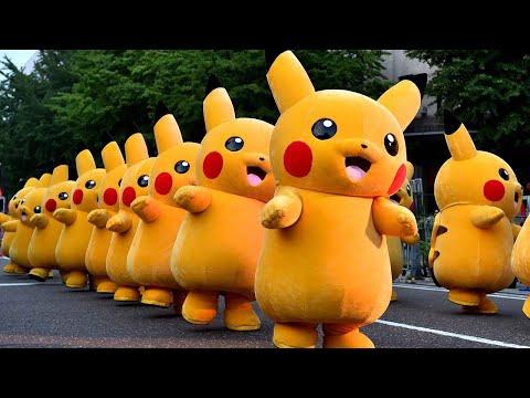 Pikachu Siêu Dễ Thương Pikachu Nhảy Múa Sôi Động Nhạc Thiếu Nhi Video Thiếu Nhi Cho Bé
