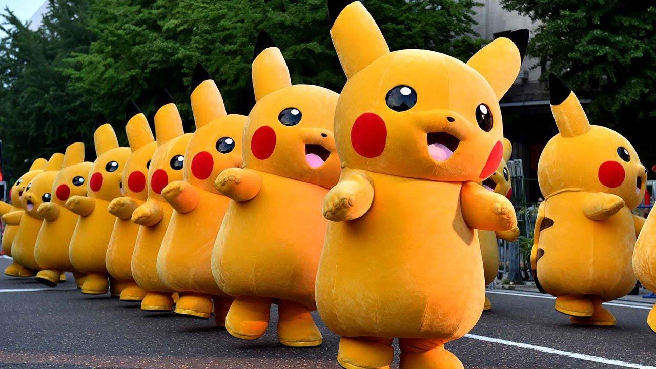 Pikachu Cực Dễ Thương - Pikachu Nhảy Múa Sôi Động  - Nhạc Thiếu Nhi   Video Cho Bé