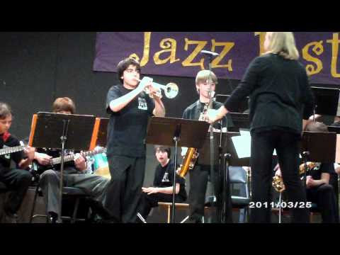 Bala Cynwyd Middle School Senior Jazz Band; playing Brass Attack