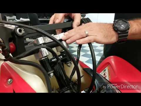 Honda TRX450R Houser Racing Steering Stem