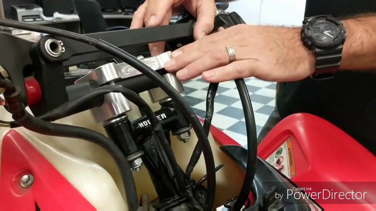 Honda 400EX / TRX450R Dashboard