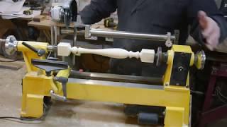 Копировальное приспособление для токарного станка. Часть 1. Copying device on lathe. Part 1.