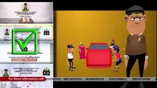 Illustration Animation: Motor Licence Procurement Procedures