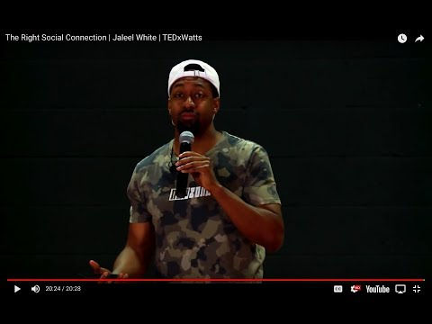 The Right Social Connection | Jaleel White | TEDxWatts