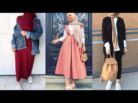 c34308a02  افكار تنسيق ملابس للمحجبات - Hijab Fashion Inspiration - YouTube