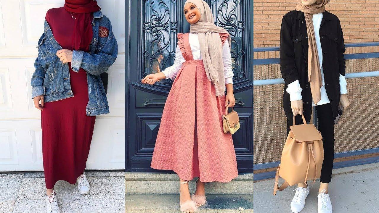 bac9959c6 افكار تنسيق ملابس للمحجبات - Hijab Fashion Inspiration - YouTube