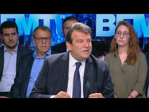 """Thierry Solère requalifie Laurent Wauquiez de """"fossoyeur de la droite"""""""