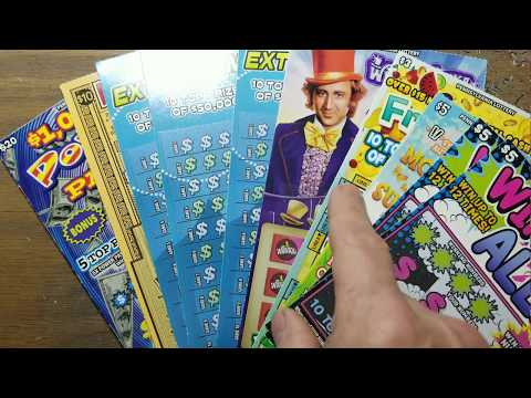$67 Smorgasbord.  Pa lottery scratch tickets.