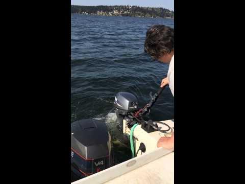 8 hp 4 stroke electric start Yamaha