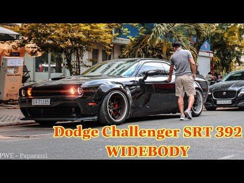 Chém gió nhẹ Cơ Bắp Mỹ Dodge Challenger SRT 392 độ Widebody cực hầm hố và 2 em BMW độ khủng