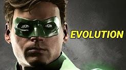 Evolution of Green Lantern in Games 2002-2018