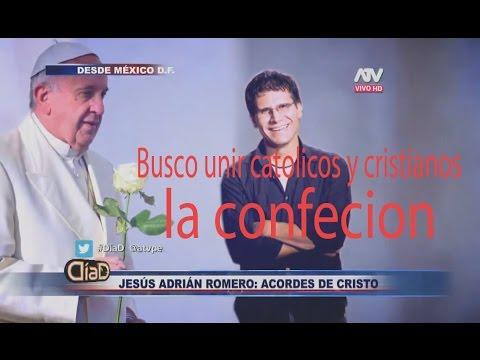 Jesus Adrian Romero Confiesa Esta deacuerdo con papa francisco
