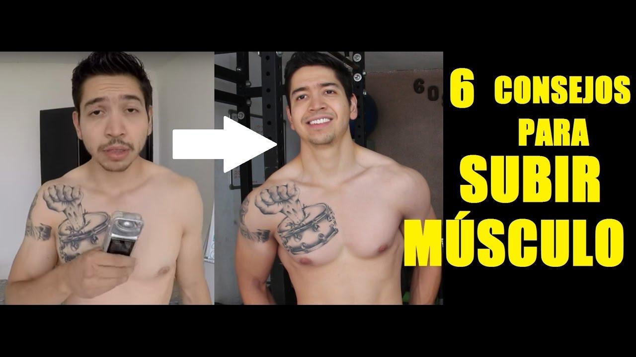 Como ganar masa muscular rapido ectomorfo