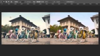 Cara Meniru Contrast dan Color Tone Foto Lain dengan Adobe Photoshop