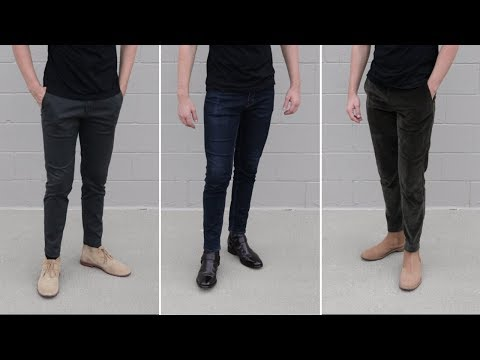 How to Pair Boots with Different Pant Styles!