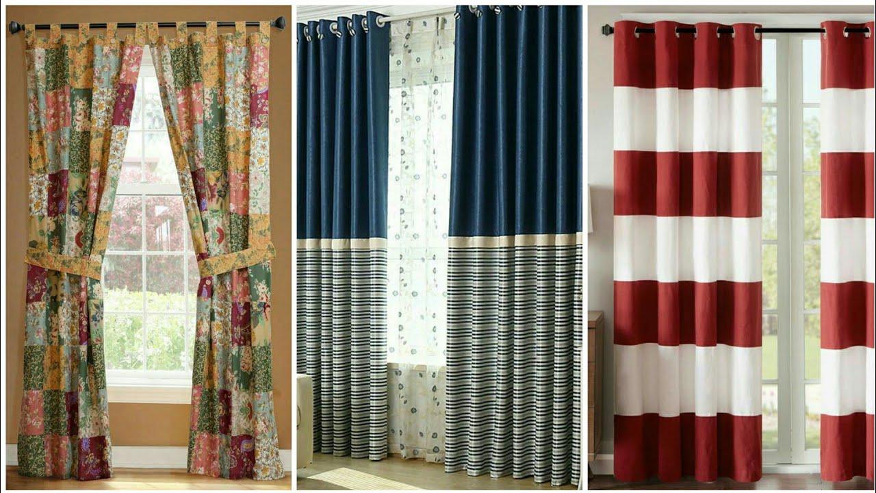 45+ Cotton Curtains Designs#Window Curtains2020 My Fashion Mart