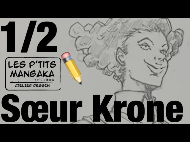 Les p'tits mangaka X Sœur Krone - The Promised Neverland [Drawing Clip] 1/2