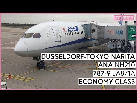 ANA Düsseldorf to Tokyo Narita Economy Class 787-9 Trip Report