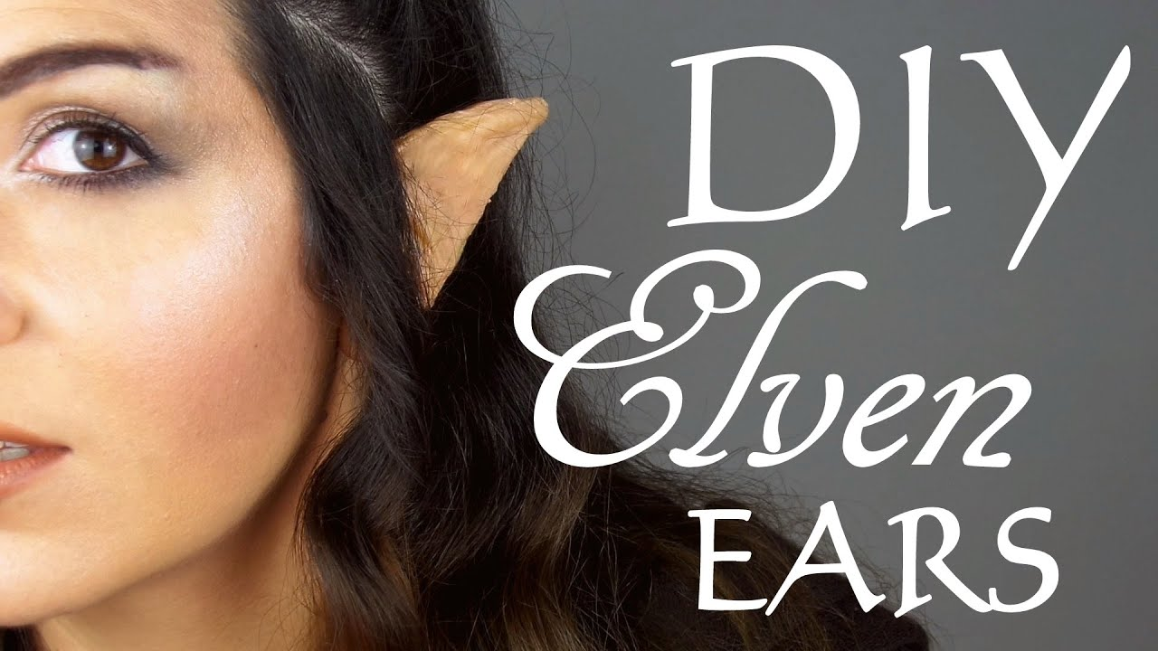Diy how to make elvenelf ears youtube solutioingenieria Image collections