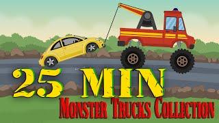 jcb video for children - jcb - monster trucks for children cartoons - jcb cartoon