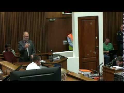 Oscar Pistorius Trial: Wednesday 16 April 2014, Session 2
