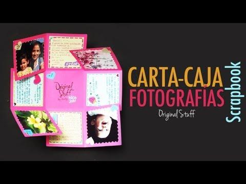 Carta/Caja con fotografías [Scrapbook]