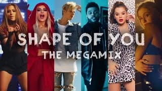 SHAPE OF YOU | The Megamix ft. Selena Gomez, TØP, Ariana Grande, Justin Bieber, and more Mp3