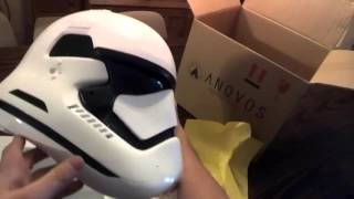 Unboxing of an official The Force Awakens First Order Anovos