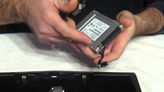 Alienware 13 Replacing Hard Drive With SSD Part 1