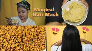 MAGICAL HAIR MASK ELEGANT BEAUTY VLOGS