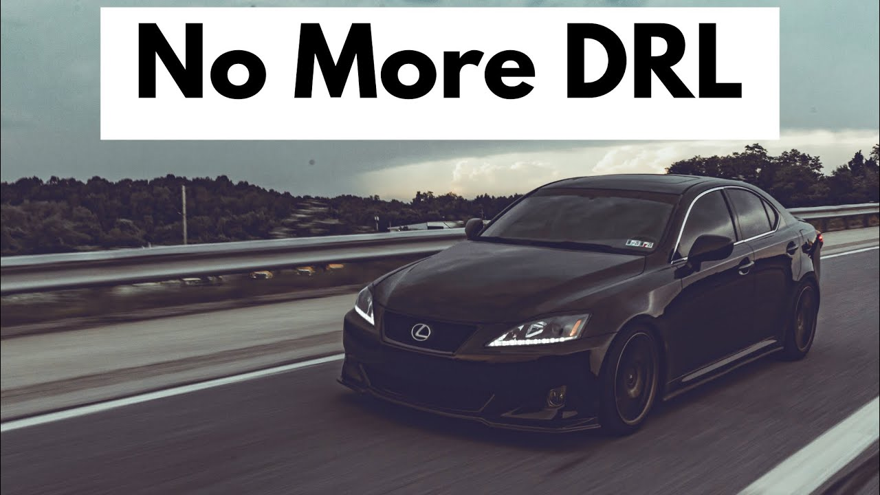 Turn Off Daytime Running Lights on a Lexus!