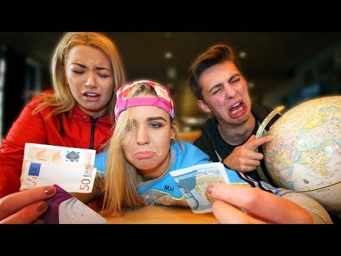 I Tried To Travel Europe On $0 w/ My Girlfriends!