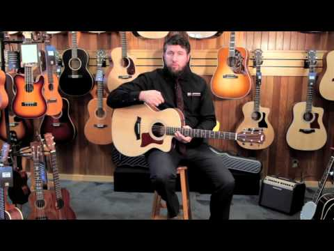 Taylor 214ce Grand Auditorium Acoustic/Electric [Product Demonstration]