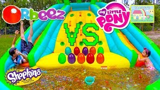 Biggest Orbeez Pool & Balloons! 1,000,000+ Orbeez Surprise Toys Challenge