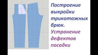 DesignaKnit8 - Урок №8. Построение выкройки брюк.