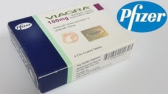 VIAGRA Pfizer unboxing and instruction manual