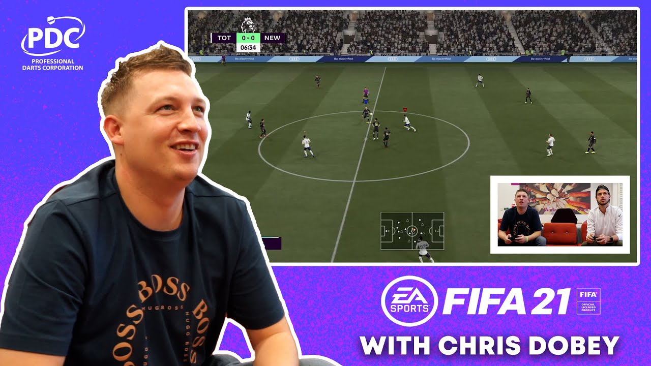 FIFA & Chill | Chris Dobey on Newcastle United, VAR and Darts