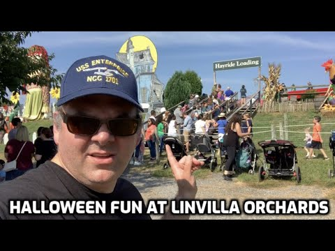 Halloween Fun at Linvilla Orchards in Media, PA!