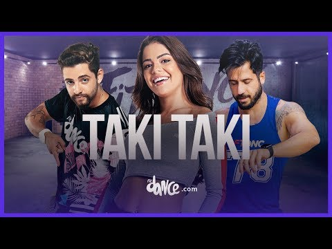 Taki Taki - DJ Snake Ft Selena Gomez, Ozuna & Cardi B | FitDance Life (Coreografía) Dance Video
