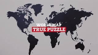 WORLD MAP TRUE PUZZLE