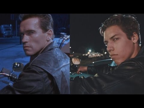 Watch Arnold Schwarzenegger's Love Child Re-Create a Scene From 'Terminator 2'