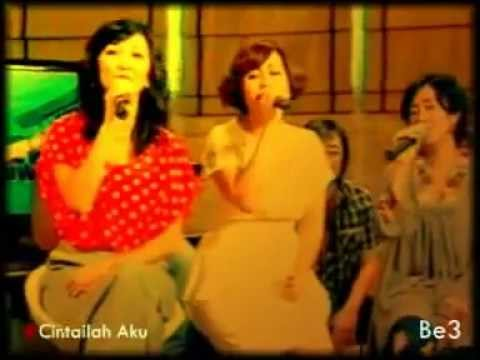 Be3-Cintailah Aku (LIVE@8-11 Show Metro TV)