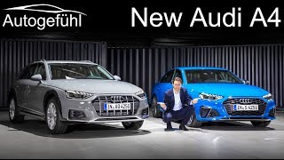 New Audi A4 Facelift Premiere REVIEW S4 sedan vs A4 Avant vs A4 Allroad comparison 2020