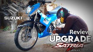 Review Modifikasi Suzuki Satria FU 150 Upgrade Terbaru